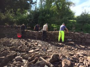 Dry Stone Walling training