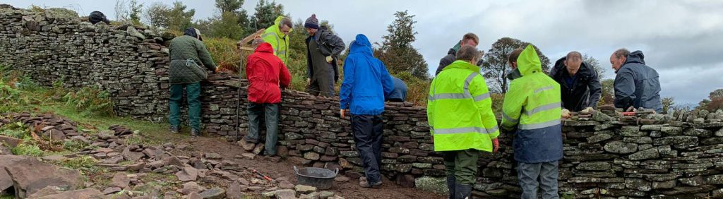 Dry Stone Walling - Wales