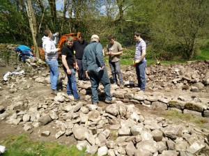 Dry Stone Walling course in Wales